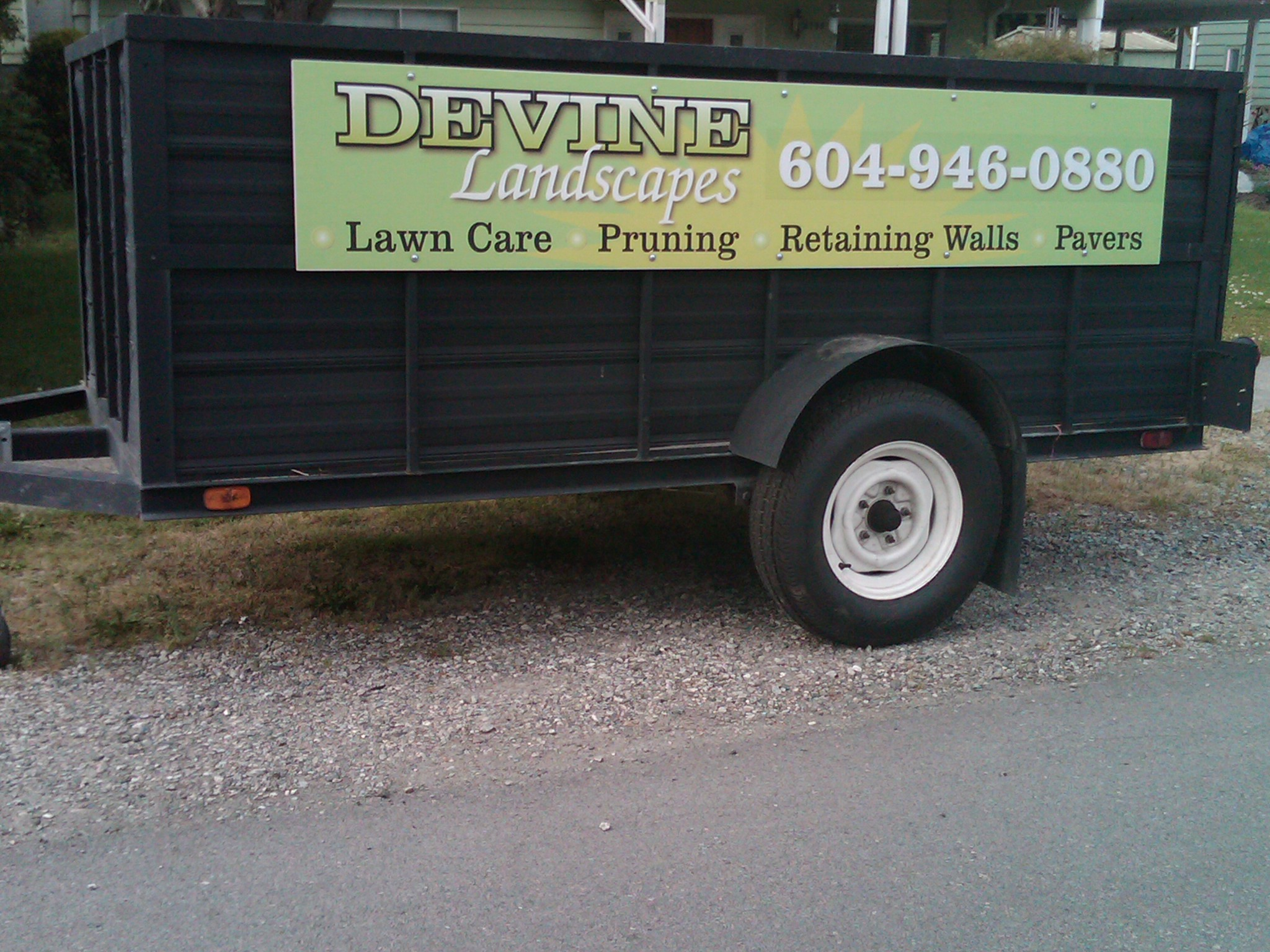 Lawn Amp Vehicle Signs And Graphics Steady Contractor